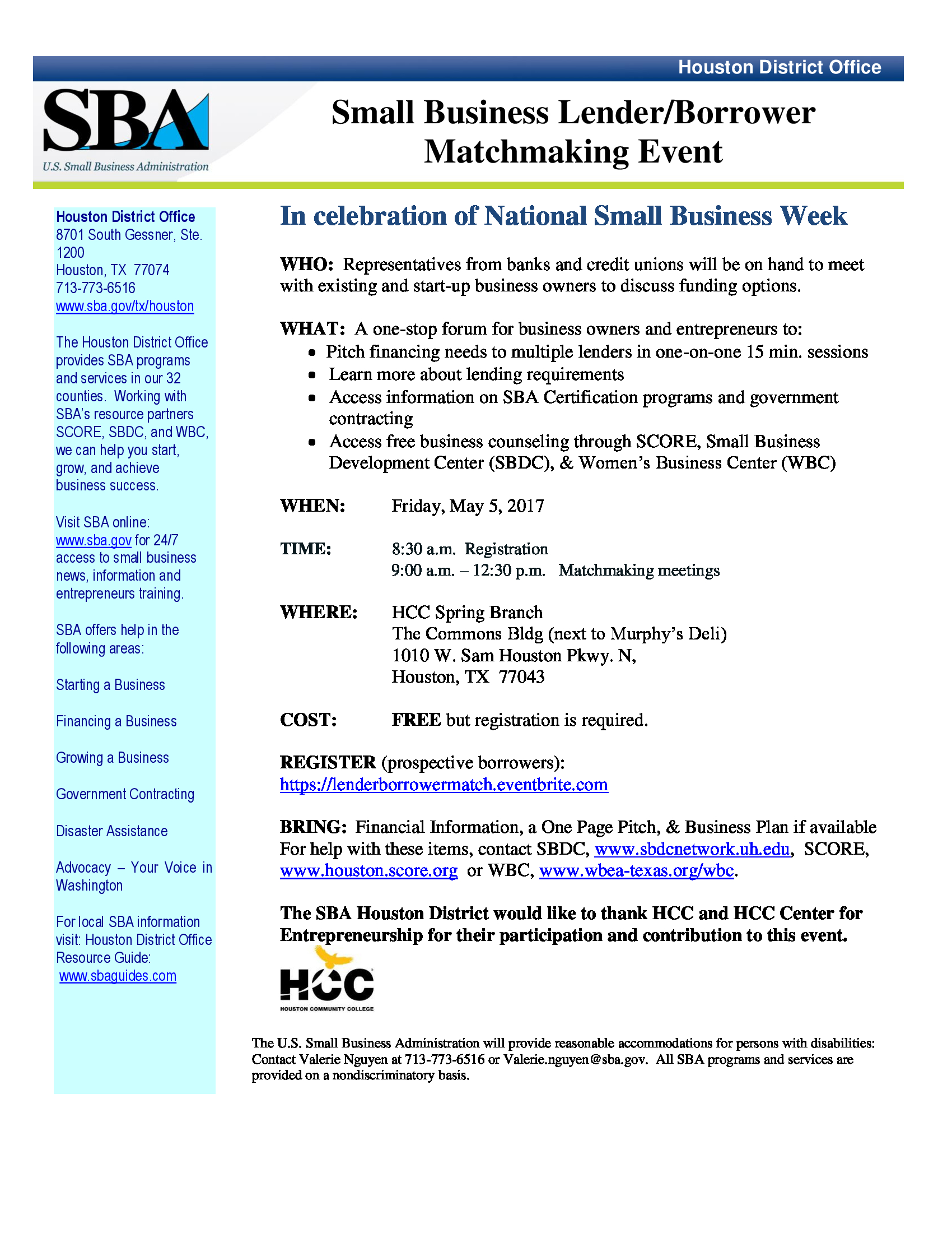 9th Annual Meet the Buyers A Procurement Matchmaking Event