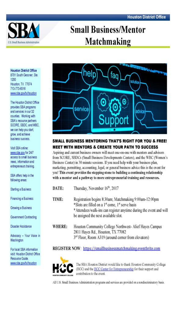 Getting Back 2 Business Small Business Outreach Event