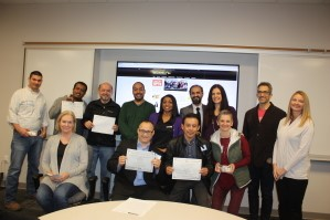 2018 01 09 Mrktg Seminar Presenters and Prize Drawing winners